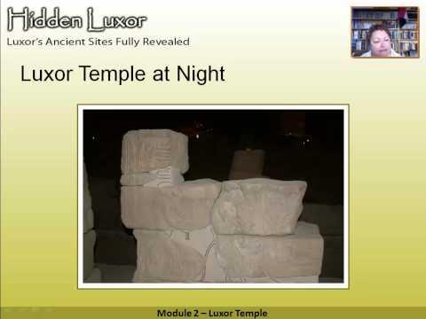 Hidden Luxor - Luxor Temple: Module 2 #thisisegypt