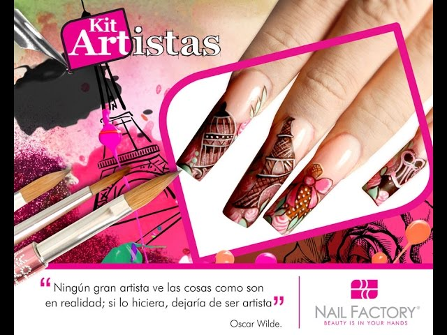 Paris Nail Factory Pigmentos Uñas Nail Additives