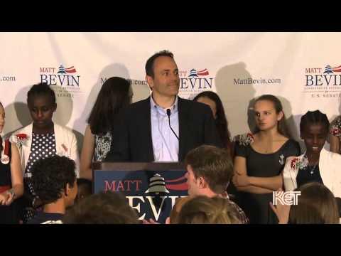 Matt Bevin Primary Election Concession Speech I KET