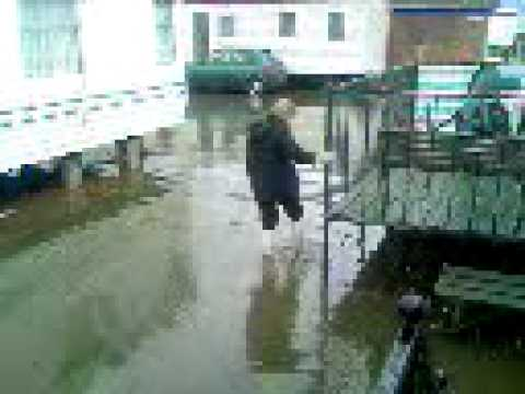 The Big Flood On Kingfisher Caravan Site Ingoldmells 2007