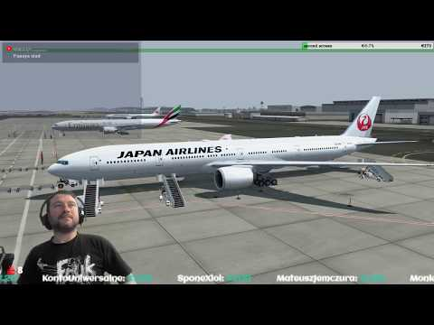 [P3Dv4.2] Dubai International Airport (OMDB) → Narita International Airport (RJAA) [Vatsim]