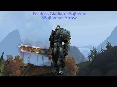 Bajheera - BFA 8 0 Warrior Gear Update (358+ iLvl) - WoW Battle for Azeroth  PvP/PvE Tips