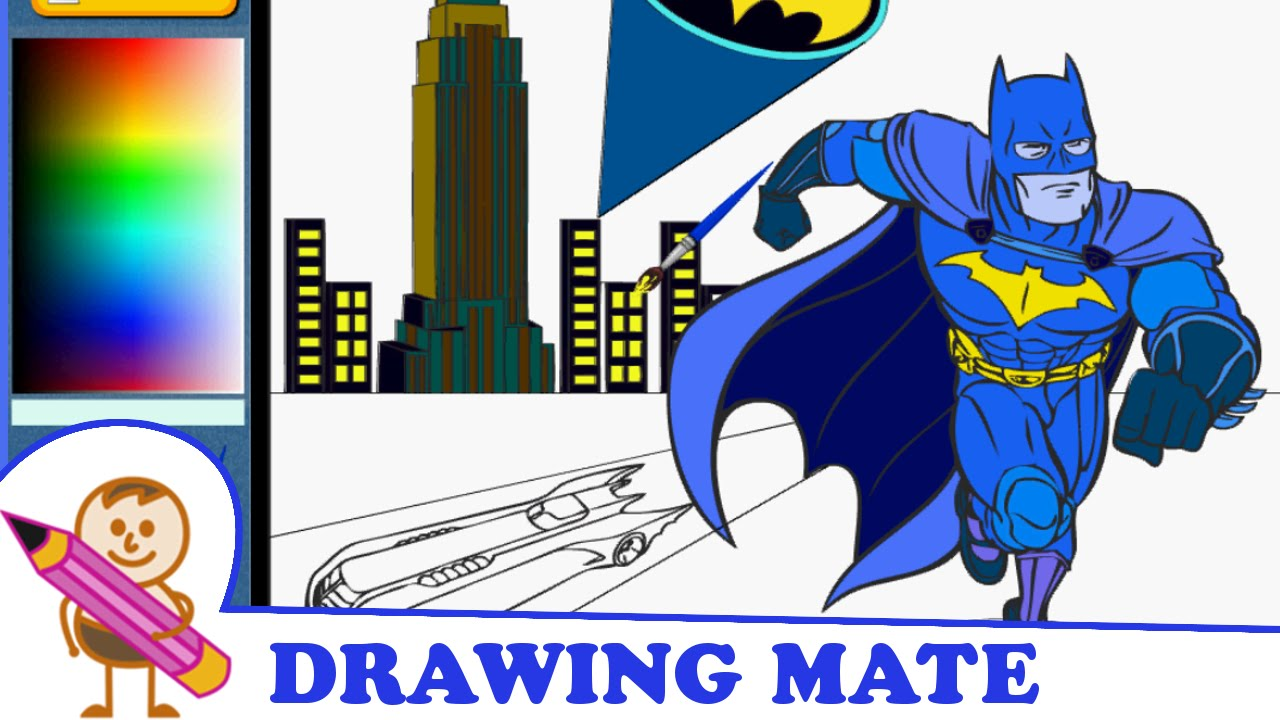 Batman Coloring Book Games Coloring Coloring Pages