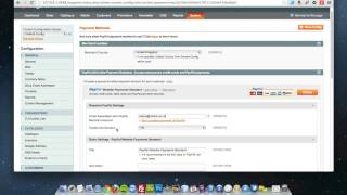 Magento   How to set up PayPal Standard HD