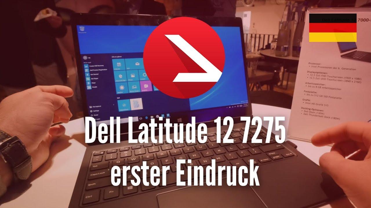 Dell Latitude 12 7275 Hands On [4K UHD]