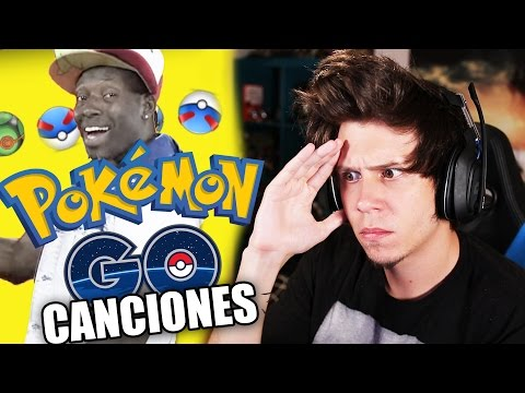 Thumbnail: REACCIONANDO A CANCIONES DE POKEMON GO