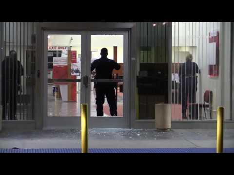 Bank of America Break In / Whittier   RAW FOOTAGE