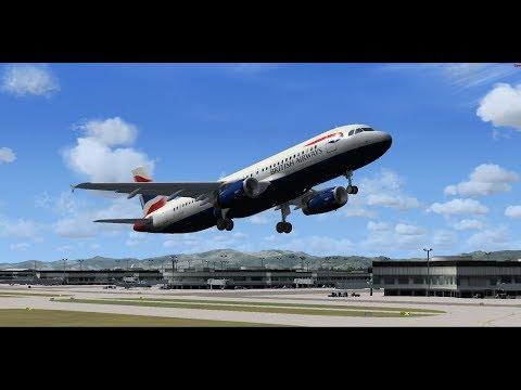 FSX FSAirlines S7-Сибирь рейс (домодедово)москва-Ереван неудачный палет