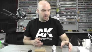 AK Interactive : Basic Witterungs-Serie : Folge.8 : Staub-Effekte