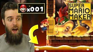 The Most INCREDIBLE 100 Mario Super Expert Run Ever (seriously)