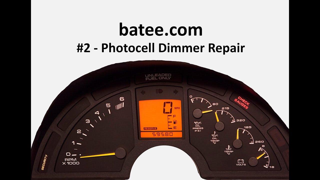 90-96 Corvette #10 - Photocell Dimmer Fix (2015) on