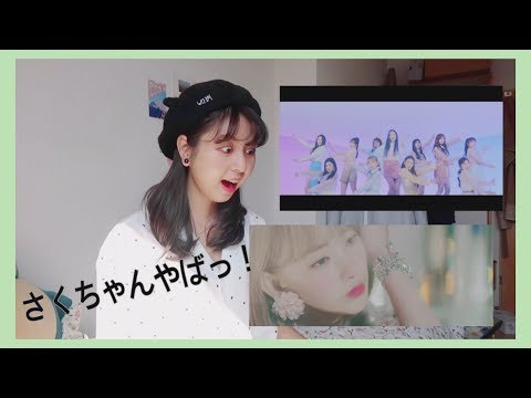 (日本語)(eng/kor Sub) Iz*one 아이즈원  'violeta 비올레타' Mv Reaction // Amika