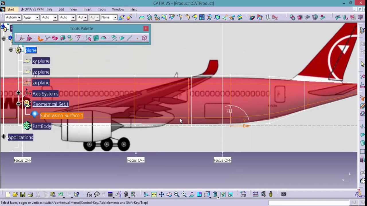 Catia online training airbus a350 plane design for Make a blueprint free online
