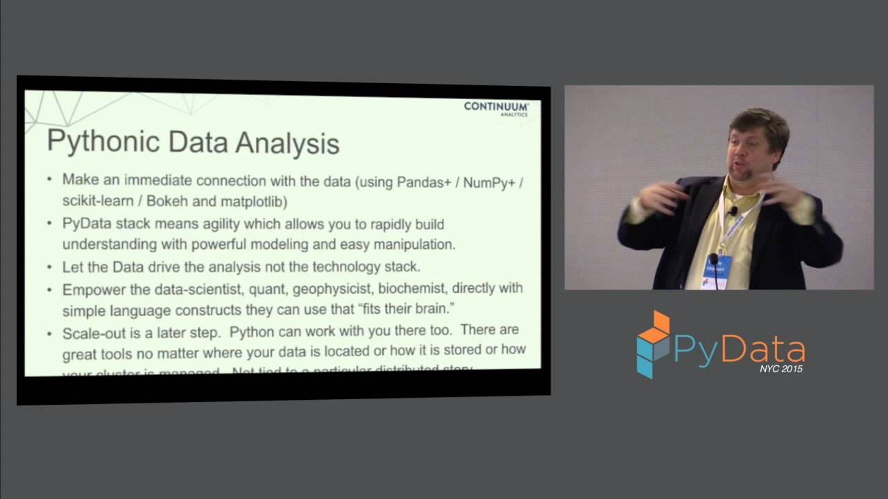 Image from Travis Oliphant & Peter Wang (Keynote): Python as the Zen of Data Science