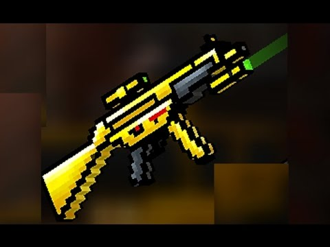 Pixel Gun 3d Golden Friend Review Youtube