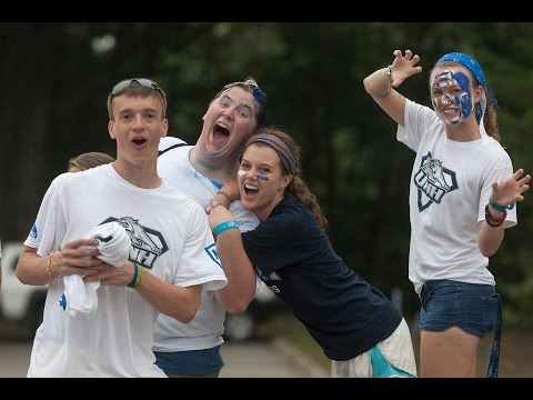 UNH Move In Day 2014