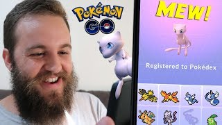 I CAUGHT A 96% IV MEW - OMG! (POKEMON GO MYTHICAL QUEST COMPLETE) YouTube Videos