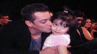 सलमान खान ने किया ऐश्वर्या की बेटी अराध्या को KISS | Salman  Kissed Aishwarya's Daughter Aradhya