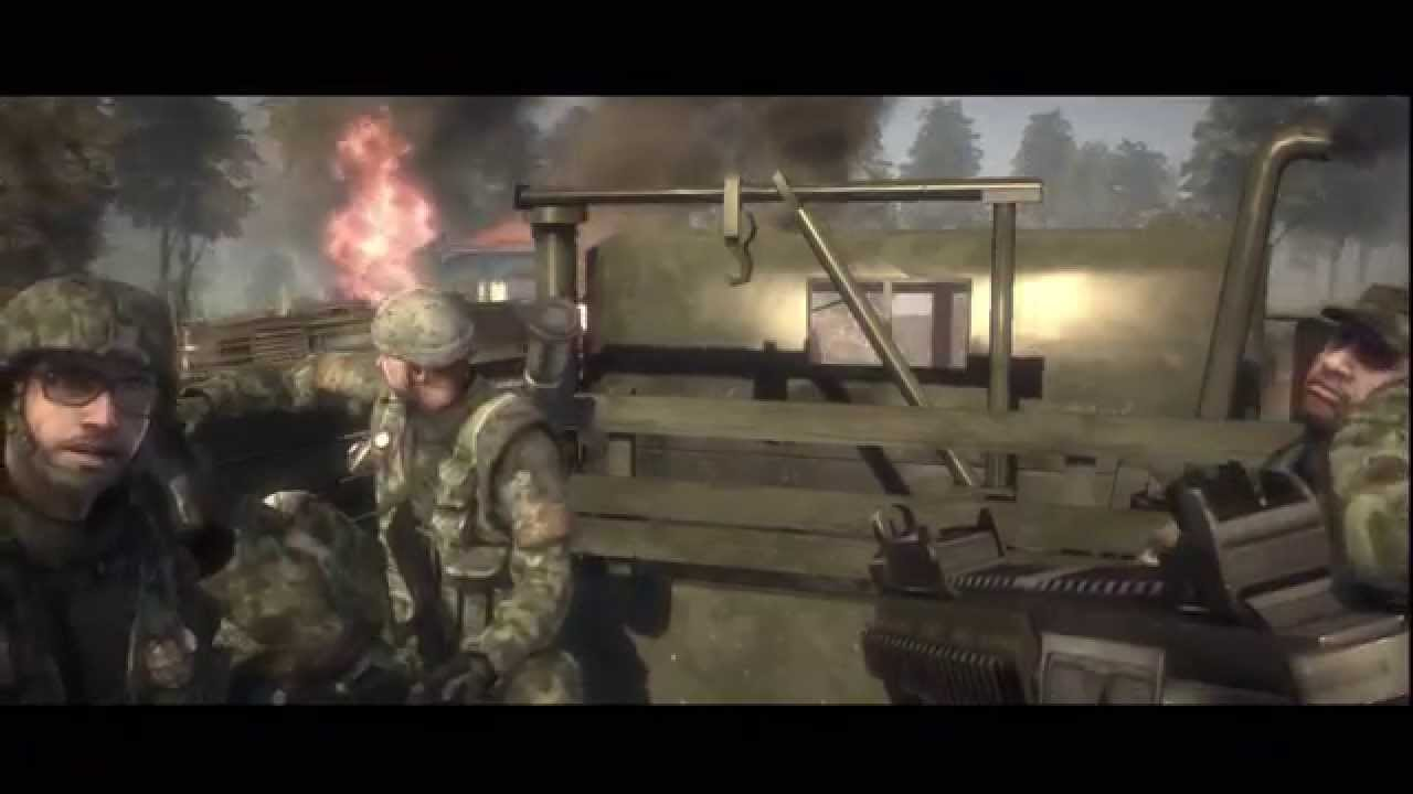 battlefield bad company hd walkthrough part 1 youtube