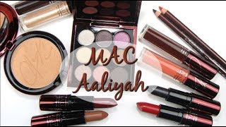 MAC AALIYAH Collection: Live Swatches & Review