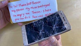Restoration Destroyed Phone   Restore Huawei Y6II   Rebuild Broken Phone