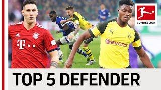 Top 5 Defenders 2018/19 So Far - Süle, Tah & Co.