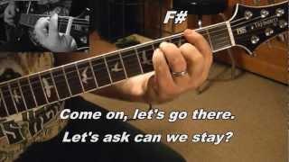 Creed - Higher Guitar Tutorial