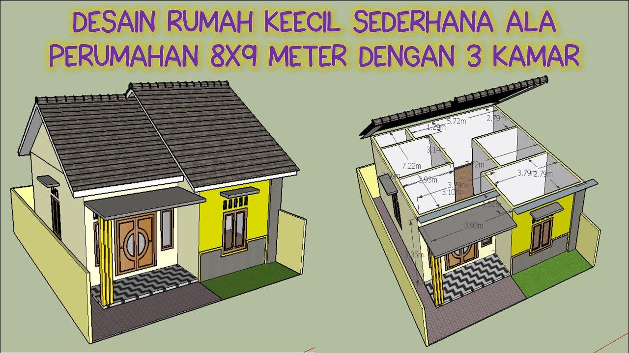 Desain Rumah Kecil Sederhana Minimalis Yang Bagus Ala ...
