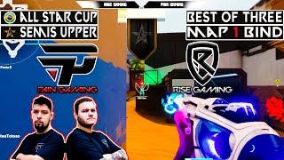 WINNER TO UPPER FIΝAL   PAIN vs RISE   Map 1 Bind   ALL STARS CUP   VODS Valorant Mundi