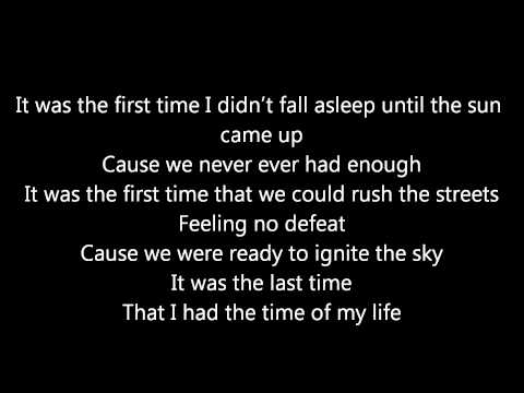 Wasting Time (Eternal Summer) By Four Year Strong w/ Lyrics