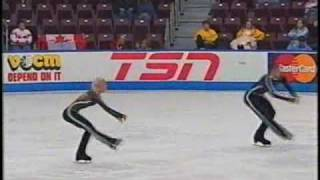 Savchenko & Szolkowy Skate Canada 2005