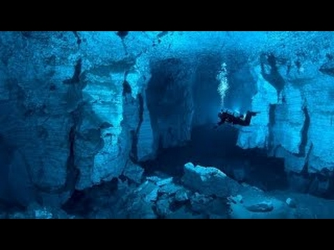 Extreme Deep Underwater Caves Diving - History Documentary Films - azr pro