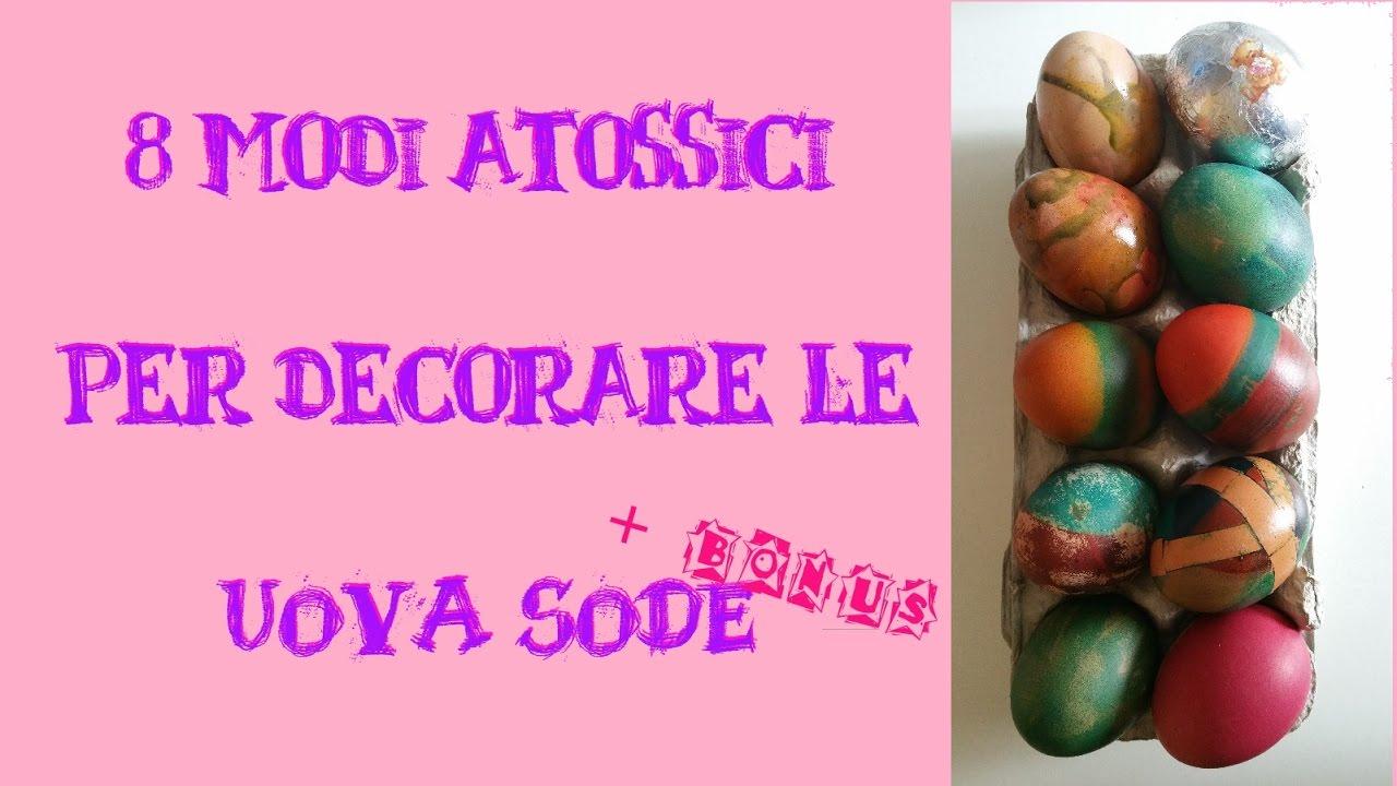 Come colorare le uova di Pasqua con colori alimentari?