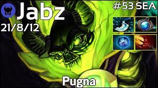 Jabz [Fnatic] plays Pugna!!! Dota 2 7.20