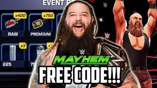 WWE MAYHEM FREE TOY CODE & AMAZING REWARDS!!!
