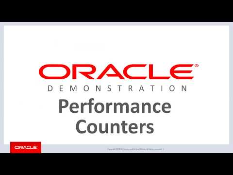ODP.NET Performance Counters: Setup And Configuration
