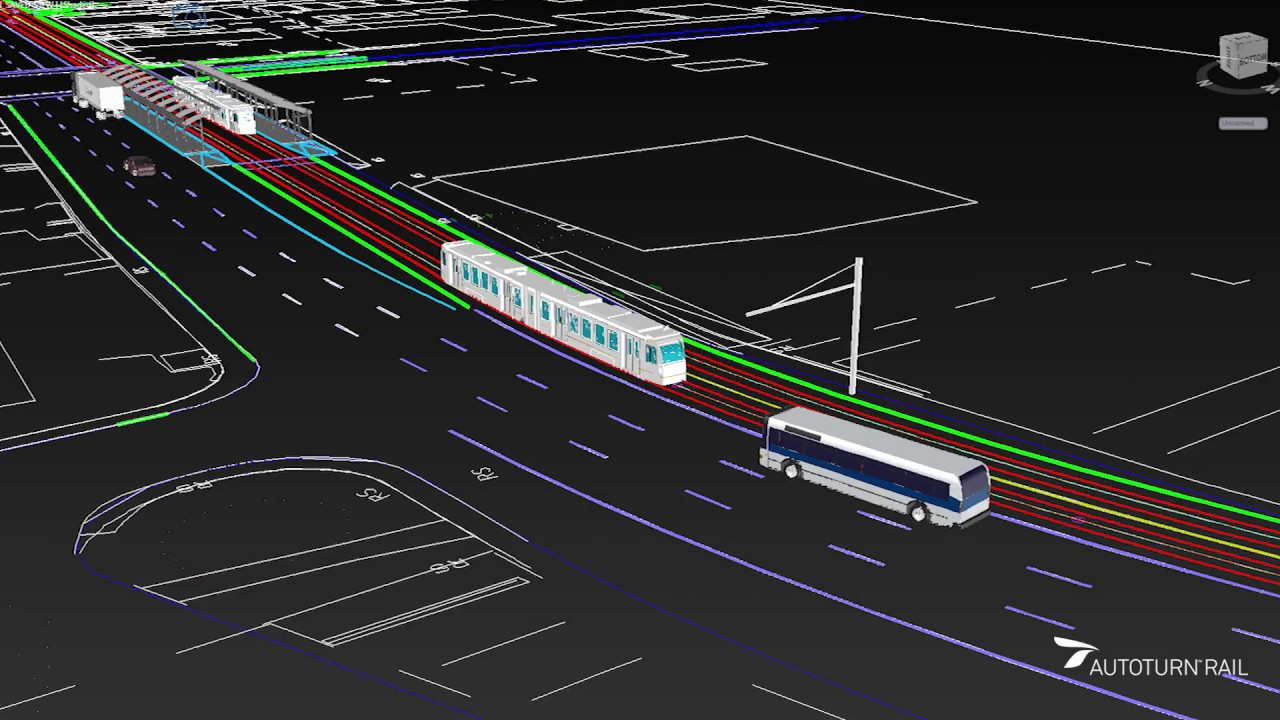 Light rail transit track design and analysis cad youtube light rail transit track design and analysis cad aloadofball Images