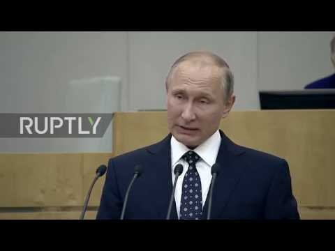 Russia: Putin opens State Duma's first session following elections