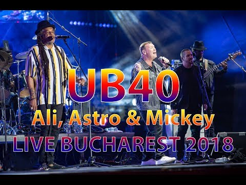 UB40 Featuring Ali, Astro & Mickey LIVE BUCHAREST GreenSounds FESTIVAL 2018