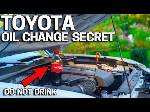 Toyota Oil Change SECRET Exposed