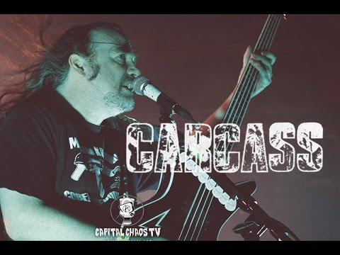 Carcass LIVE in Sacramento, California on Capital Chaos TV