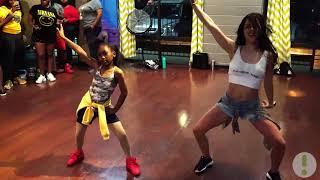 "OT Genesis Beychella ""Everybody Mad"" Dance Class at Inner Me Studios"