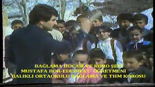 Boryayın-Balıklı Ortaokulu Bağlama Kursu-THM Korosu-Şef Mustafa Bor-Artvinin Kurtuluşu-Şavşat