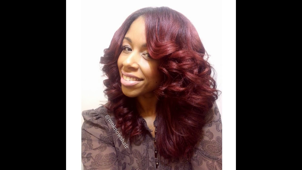 Flat Iron Curls Youtube