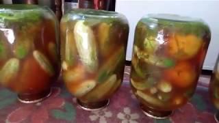#Огурчики Чили/Шокирующие, Острые / Заготовка на зиму Огурцы с кетчупом Чили
