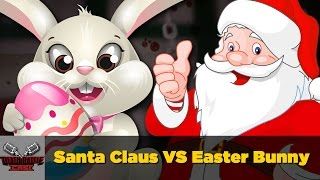 santa claus vs easter bunny   death battle cast