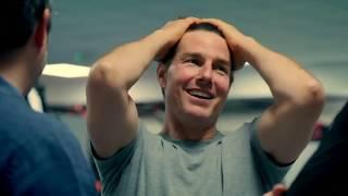 Tom Cruise pulls off Mission Impossible 'halo jump' stunt