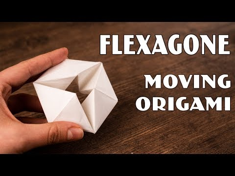 Origami Moving Flexagon | 12 Simple Tricks