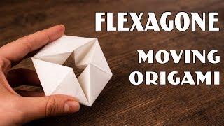 Origami Moving Flexagon | 12 Simple Tricks