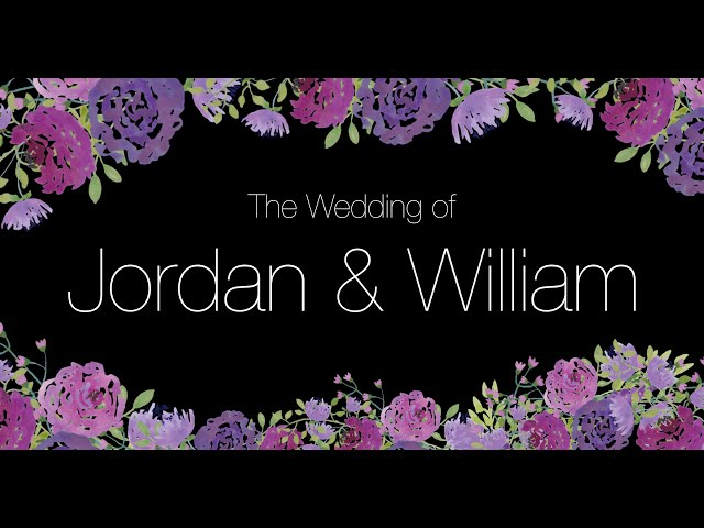 The Wedding of Jordan Lee and William Burgess | 6.21.19 | Highlight Film